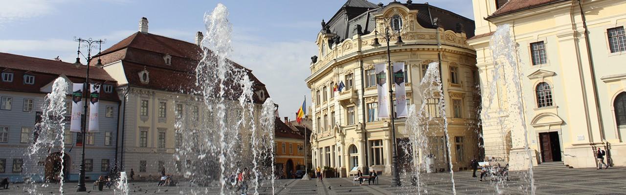 piata mare Sibiu