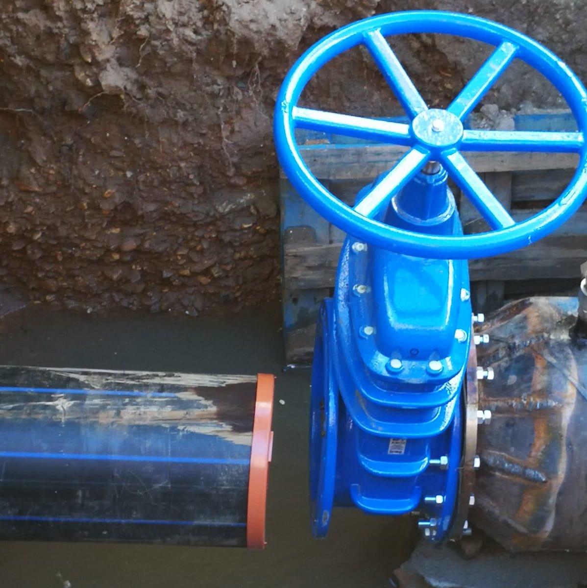 Intervenție la rețeaua de apă pe Calea Șurii Mici