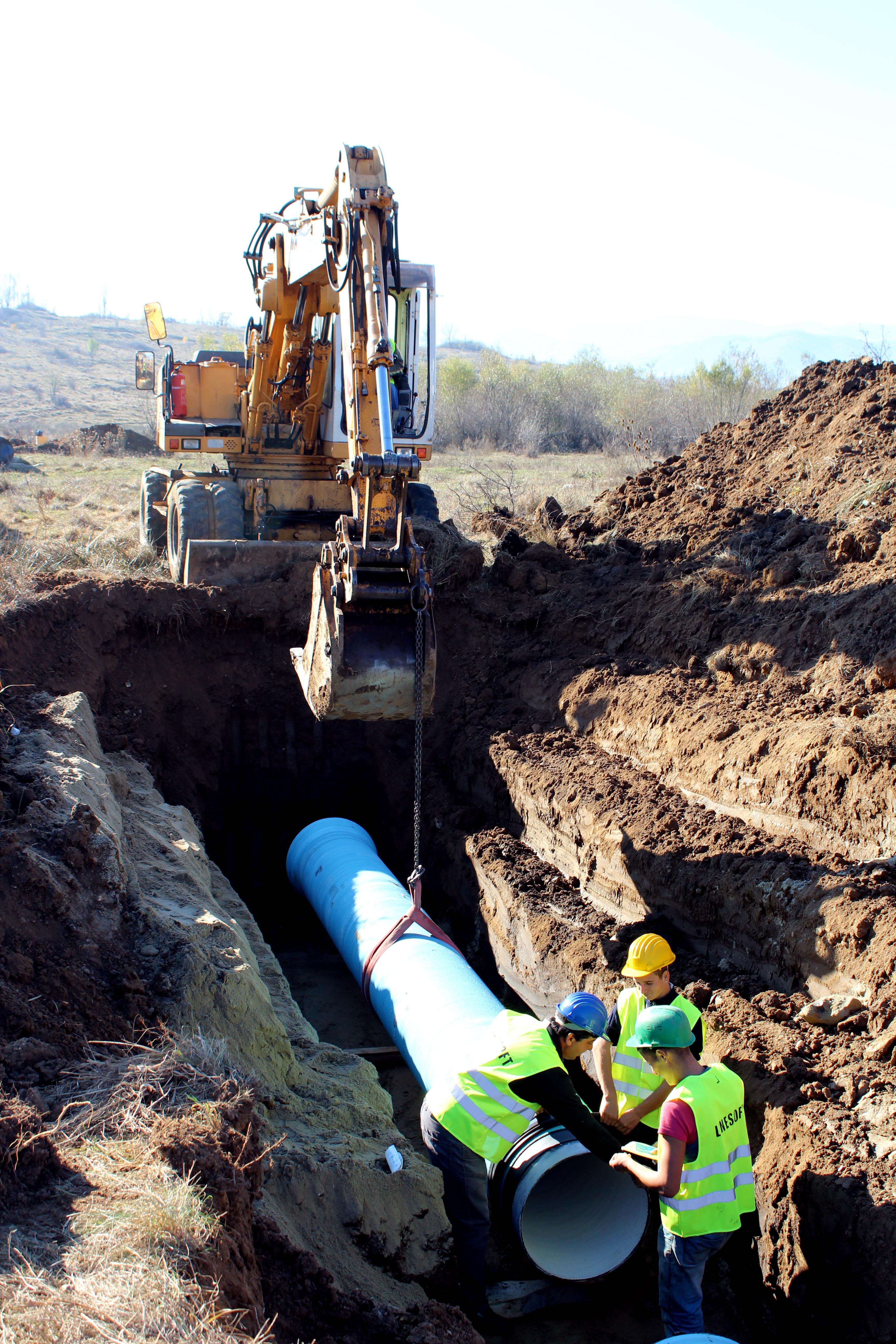 Lucrări la rețeaua de apă a Șelimbărului generate de șantierul viitoarei autostrăzi